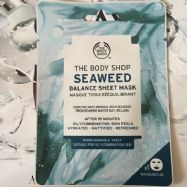 Seaweed Balance Sheet Mask (Bodyshop)-1 Piece